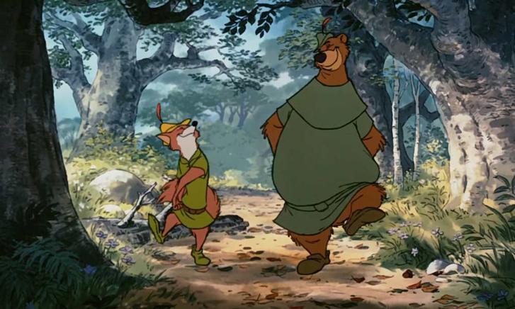 Robin Hood Kleine Jan Disney Plus tekenfilm