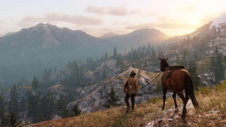 Red Dead Redemption scenery