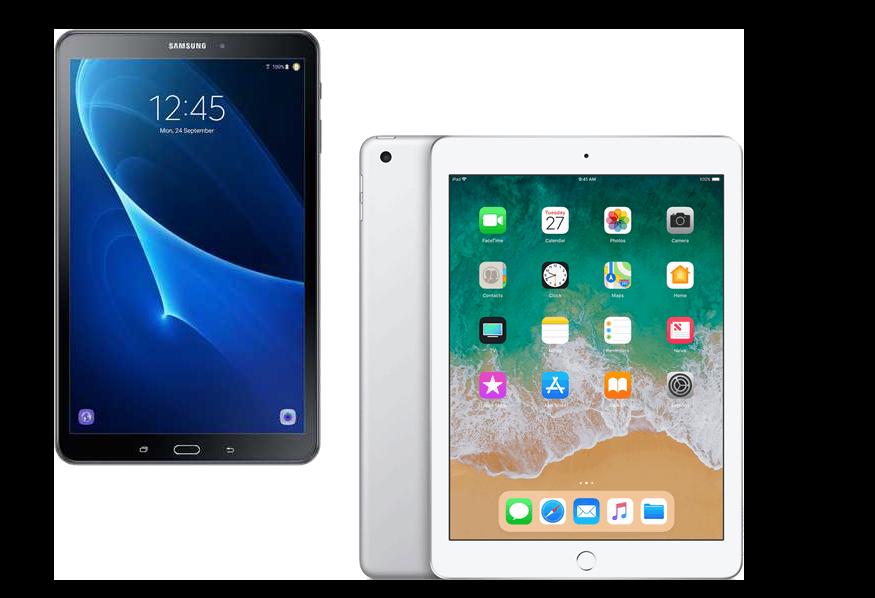 Wanneer je aan tablets denkt, kom je al gauw uit bij iPads of Samsung-tablets.