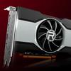 Render van de AMD Radeon RX 6600-videokaart.