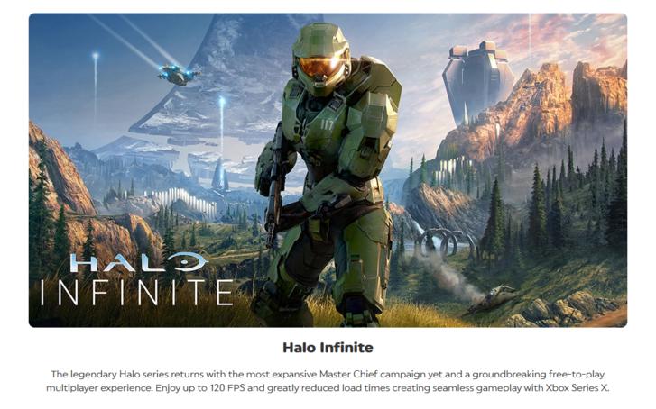 Halo Infinite leak