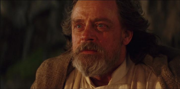 Luke Skywalker laatste scene