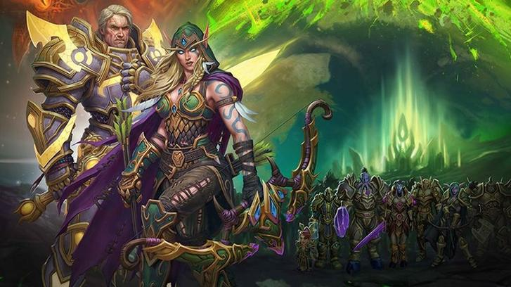 Warcraft Blood Elfs Paladins