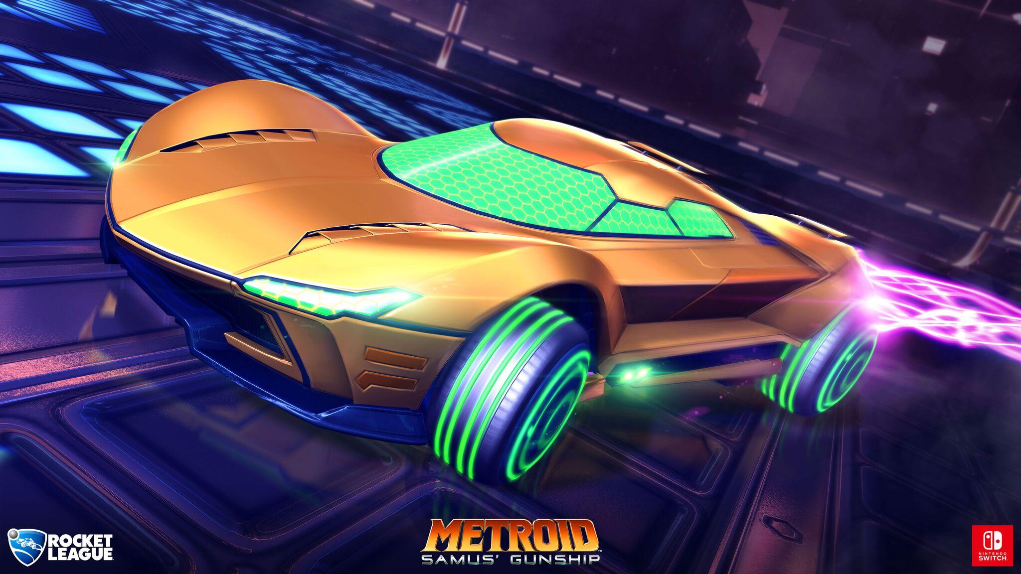 Metroid wagen