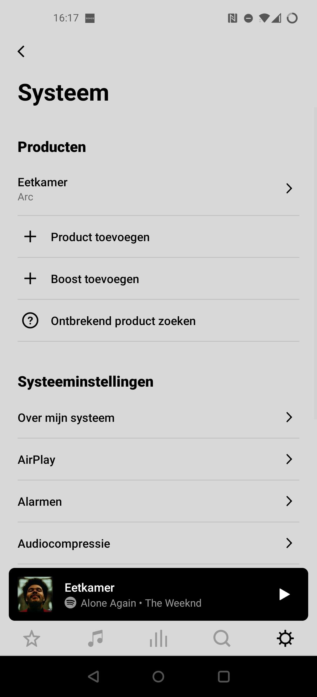 Sonos Arc app