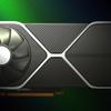Mock-up beeld van het vermeende ontwerp voor NVIDIA's nieuwe GeForce RTX 30-generatie aan videokaarten.