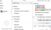 Markeer mails in Gmail met een kleurtje