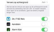Beperk het energieverbruik van apps in iOS