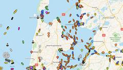 Volg vlieg- en scheepvaartverkeer via een app
