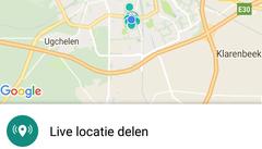 locatie live delen in whatsapp