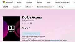 Ook Dolby Atmos is beschikbaar als optie voor ruimtelijk geluid in Windows 10