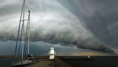 De beste weerfoto's: Skanör Shelfcloud