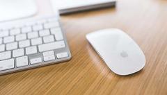 De draadloze Apple muis en toetsenbord