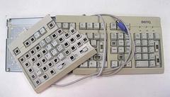 Het Windows schermtoetsenbord kan handig zijn als je echte exemplaar eens kapot is