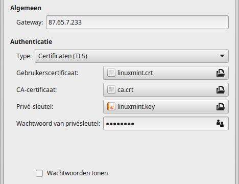 Raspberry Pi als vpn-server
