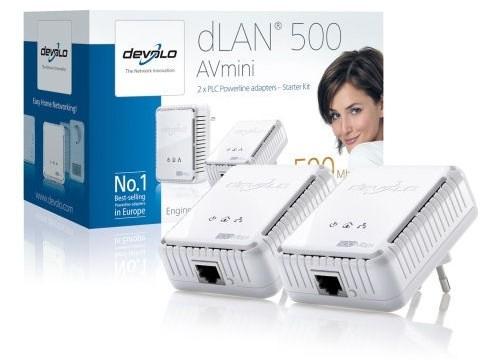 devolo dlan 500 av homeplug avmini 500mbps netwerk. Black Bedroom Furniture Sets. Home Design Ideas