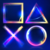 Playstation Buttons Paars