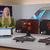 Screengrab van de Intel CES 2021-presentatie, waarbij de nieuwe Intel Core i9-11900K tegenover de AMD Ryzen 9 5900X getest wordt in Metro Exodus.