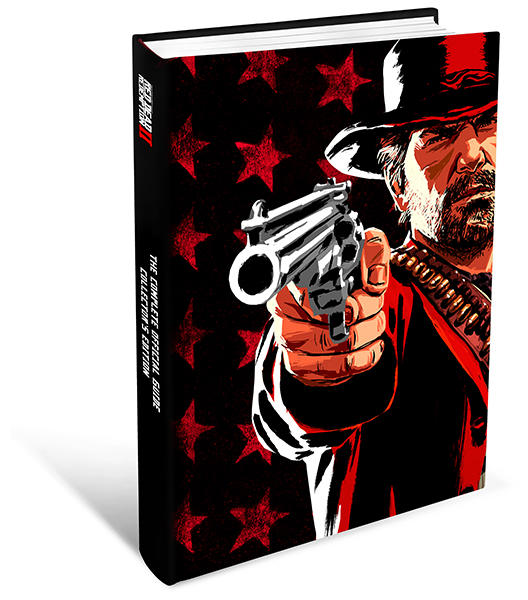 Collectors editie guidebook RDR2 Red Dead Redemption 2