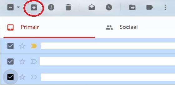 Gmail archiveren