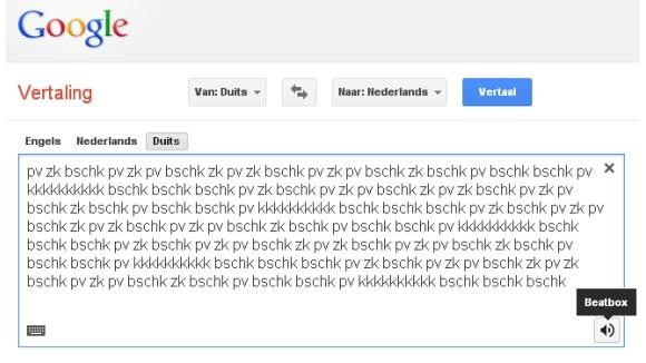 Google Translate kan beatboxen | Internet | PCMweb.nl