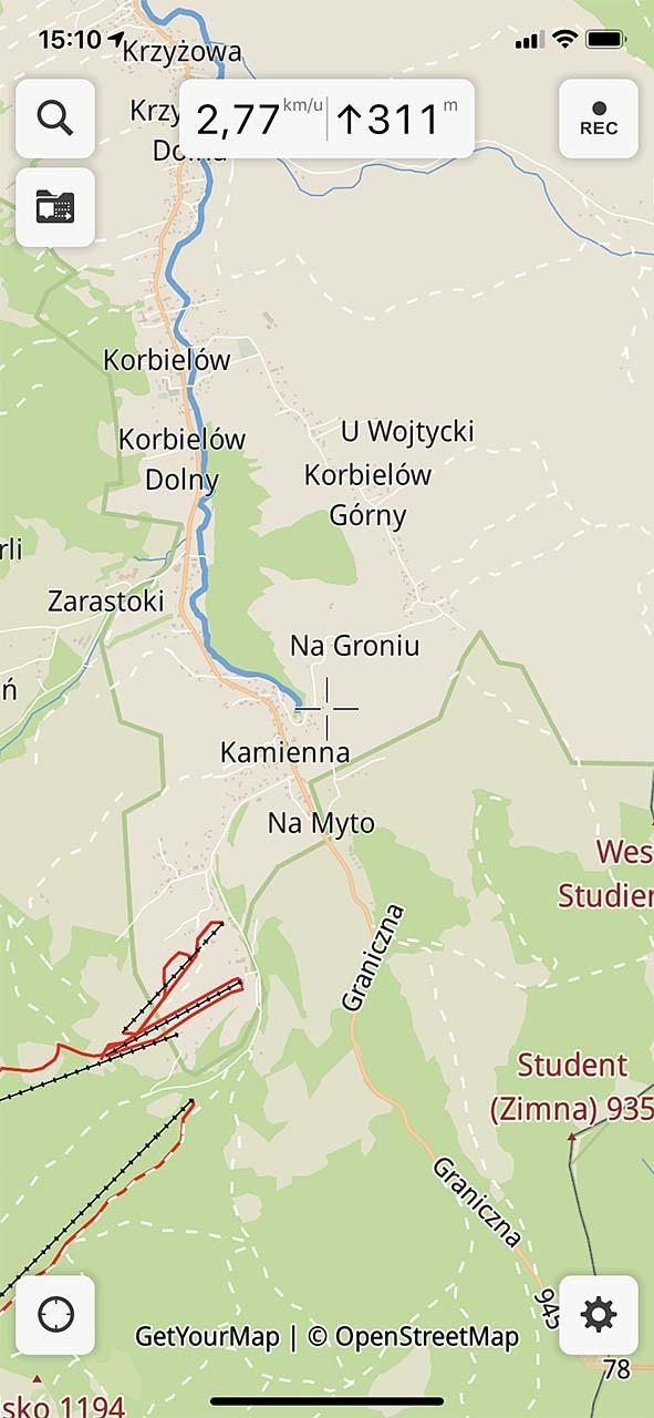 Met Guru Maps maak je van je iOS of Android-mobiel een handheld GPS