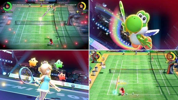 Mario Tennis Aces-screenshots