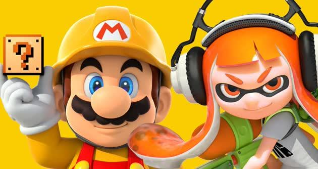 Splatoon Mario Maker