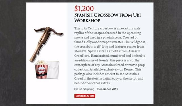Kruisboog Assassins Creed