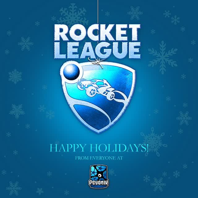 Psyonix Happy Holidays
