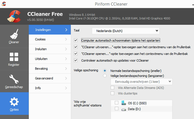 CCleaner Free