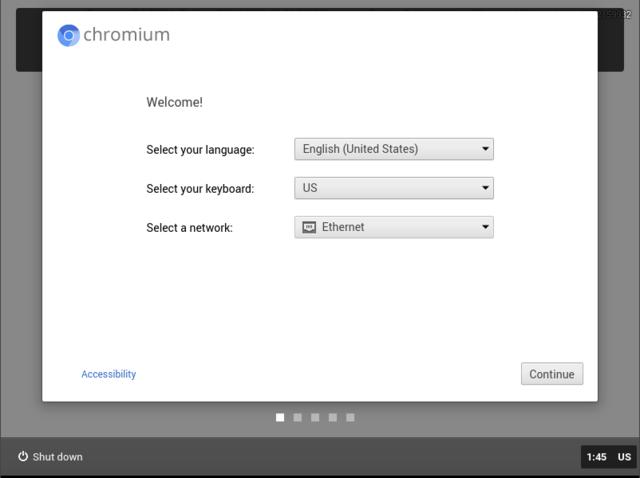 chromium os installeren