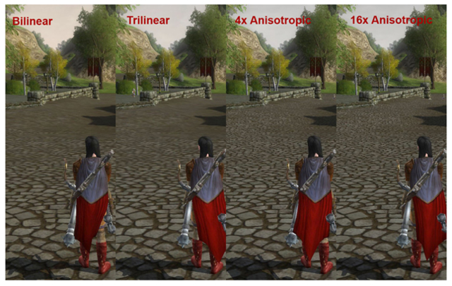 texture filtering
