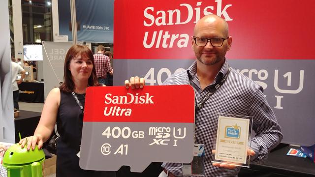 het beste van IFA - SanDisk 400GB microsd-kaart