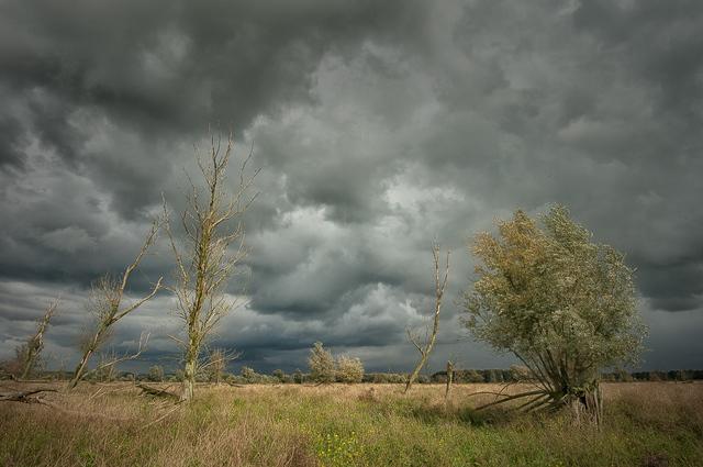 De beste weerfoto's: De storm trekt voorbij