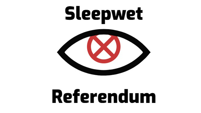sleepwet referendum