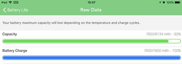 Bekijk capaciteit én ladingstoestand van je batterij in iOS