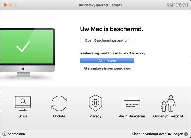 Het ziet er misschien wat raar uit, maar ook op een Mac bewijst een virusscanner tegenwoordig z'n diensten