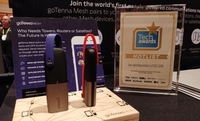 CES 2018, tech awards, hotlist