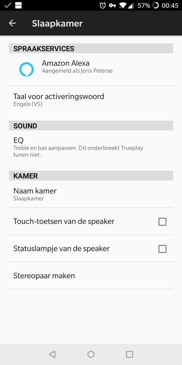 Sonos Play One Alexa