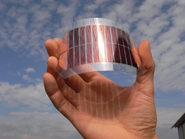plastic zonnecel