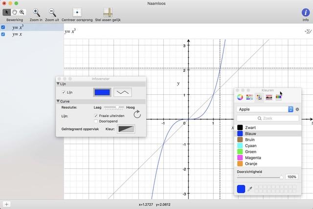 Pas lijnkleuren in je grafieken aan