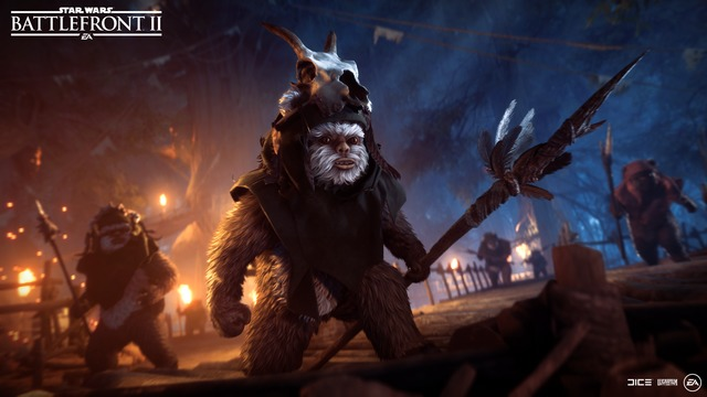 ewok hunt Battlefront 2