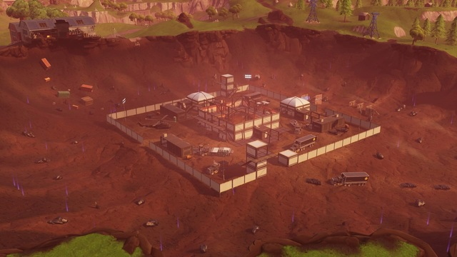 Fortnite Dusty Divot