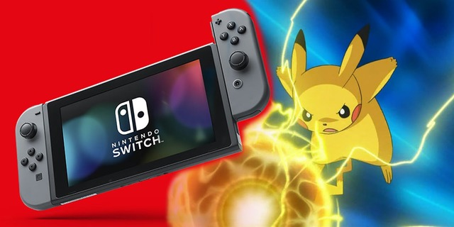Pokemon nintendo switch pikachu