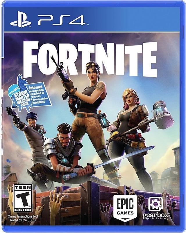 Fortnite PS4 hard copy