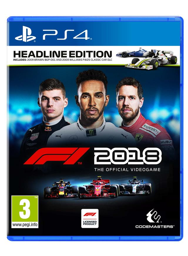 f1 2018 hoofd uitgave cover