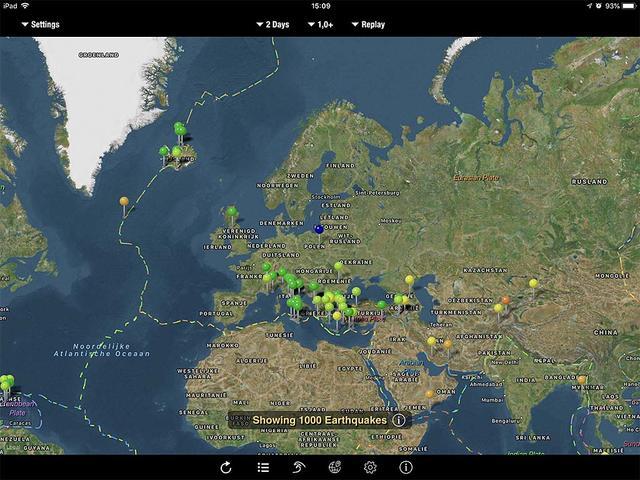 Met een beetje fantasie valt een aardbeving ook onder de noemer (lokaal) weer...