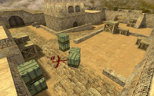 Counter strike 1.6 de dust