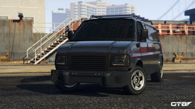 Vapid Speedo Custom After Hours GTA 5 Online